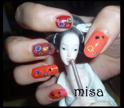 nail art bulle