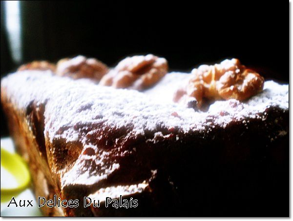 gâteau au potiron noix facile