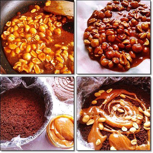 Gâteau Façon Snickers maison