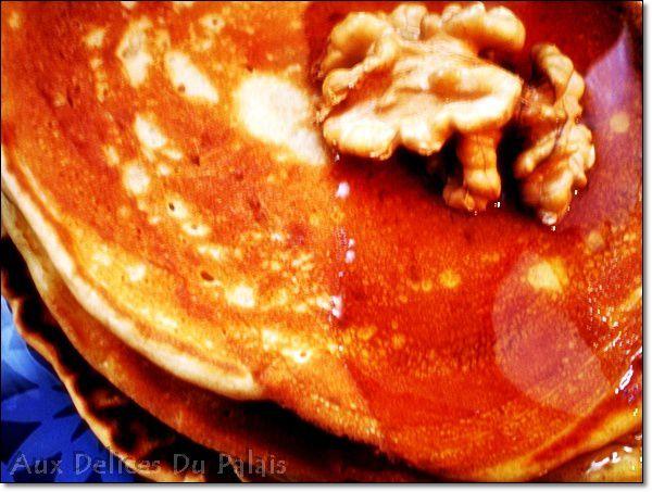 Pancakes au Babeurre ( Lben )