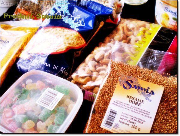 Partenariat Samia gamme de produits orientaux