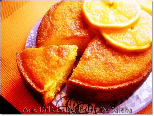 Gateau a orange