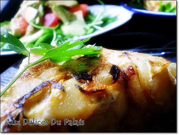 recette tortilla marocaine aux oignons