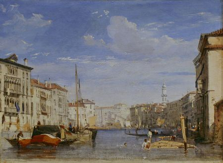 The Grand Canal by Richard Parkes Bonington