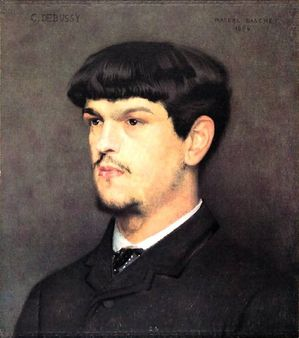 1 French composer Claude Debussy (1862-1918) by Marcel Baschet (1862-1