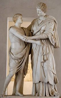 Orestes and Electra, also known as the 'Ludovisi Group