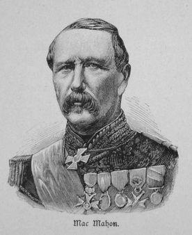 Patrice de Mac-Mahon Patrice de Mac-Mahon | Source Krieg und Sieg 1870