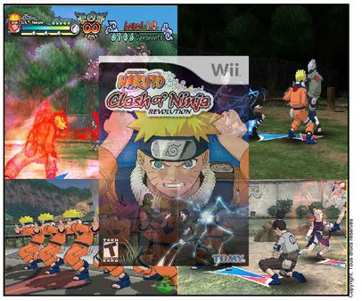 Jeux Naruto sur Wii