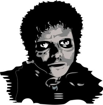 Michael Jackson Thriller Vector