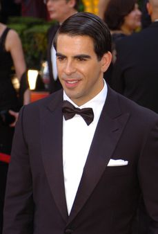 Eli Roth, aka Donnie Donowitz in 'Inglorious Basterds,' arrives at the