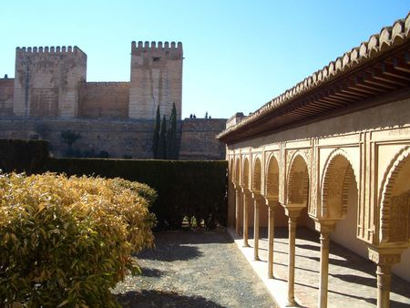 1 Alhambra, Granada, Spain 1 Patio de Machuca. Alhambra, Granada, Esp