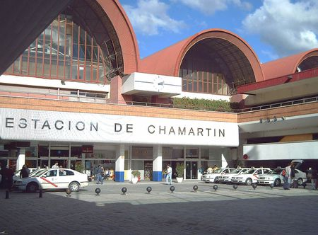 Entrance of the Category:Estación de Chamartín | Chamartín railway