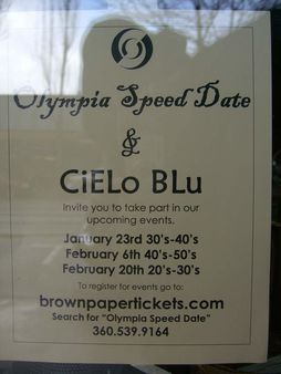 Olympia Speed Date