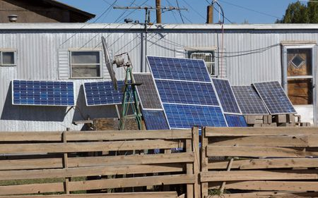 Make-shift DIY Solar Panel System