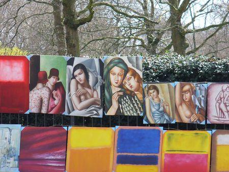 Dire Tamara de Lempicka rip-offs, Piccadilly