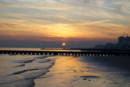 The Sunset at Jesolo
