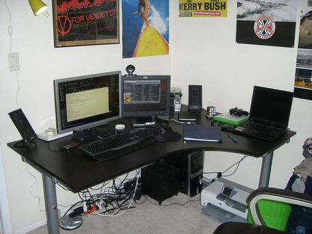 My Computer Desk - March 2008