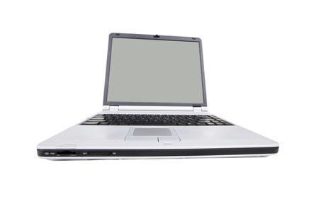 Modern, wide screen laptop