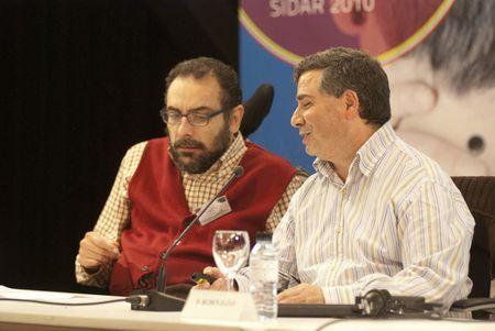 """Rubén Elías. Mesa Redonda Sidar 2010: """"Nada sin el usuario"""""""