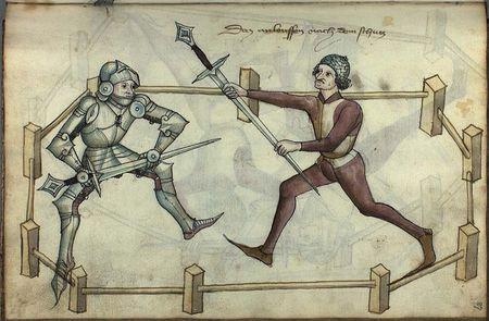 Le duel judiciaire
