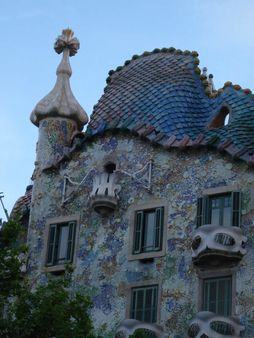 Casa Batlló, à Barcelone | Source Transferred from http://fr. wikipe