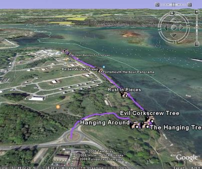 Google Earth Track File