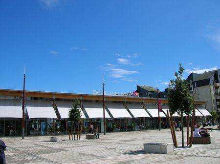 Saint Malo - la stazione