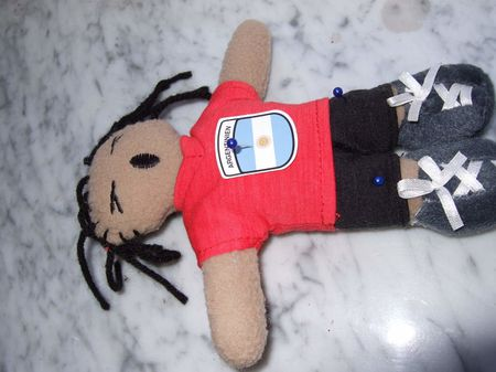 Argentina - Germany World Cup 2010 Voodoo Doll