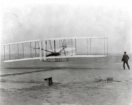 | Date 1903 | 12 | 17 | Author Attributed to Wilbur Wright (18671912)