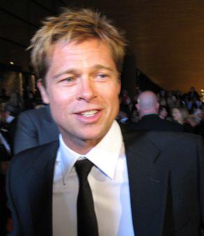 Brad Pitt in 2007. | Source http://www. flickr. com/photos/38494596@N