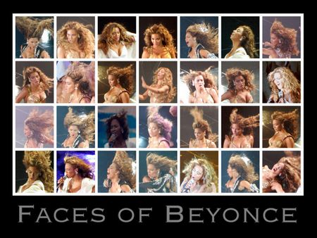 Faces of Beyonce