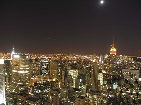 nyc / night view