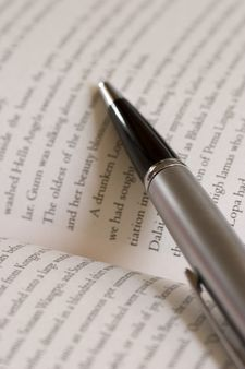 A handsome pen and a novel