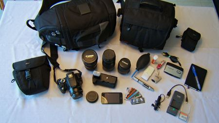 what's in your photo kit?