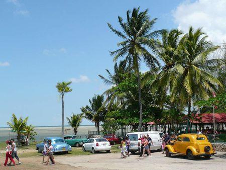1 Cuba, lake 'Laguna de la Leche', touristic venue near Moron, Ciego d