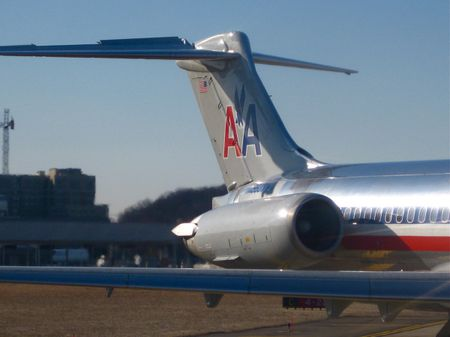 American Airlines MD-83 - Tail