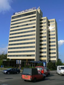 Building of The Hotel Barceló in Prague 4 (Dlouhá cesta location) |