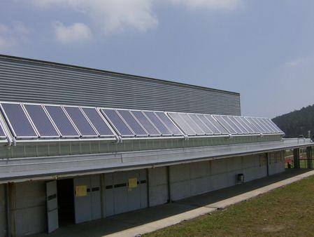 Enerxía solar térmica con captadores planos