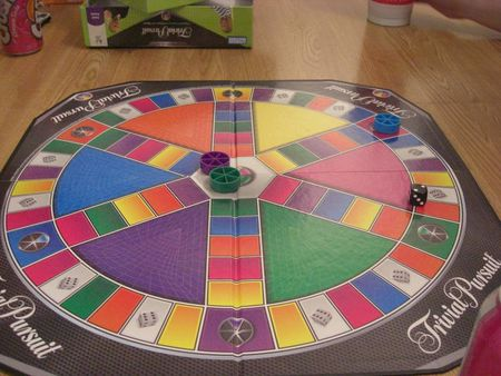 Trivial Pursuit is played next