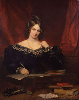 Unknown woman, formerly known as Mary Wollstonecraft Shelley, by Samue