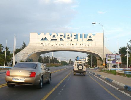 1 Arch over the N-340 in Marbella, Málaga, Spain   Source Flickr http