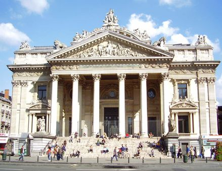 : La Bourse de Bruxelles (1873), architecte: Léon-Pierre Suys. Author