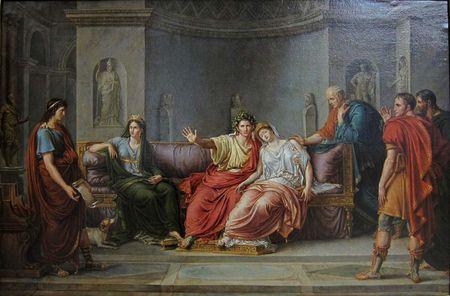 1 Virgile lisant l'Énéïde devant Auguste et Livie (Palais des Beaux