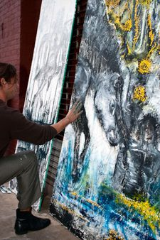 Artist in Action / Dumbo Arts Center: Art Under the Bridge Festival 20