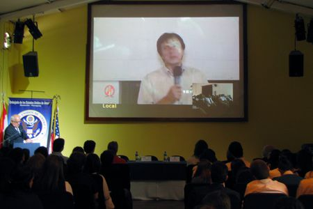 Video Conferencia Online con Astronauta
