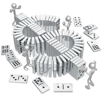 Dollar Dominoes