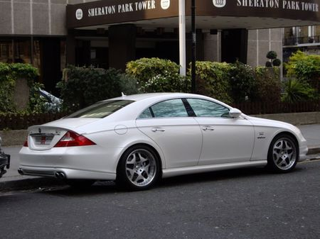 Mercedes Benz CLS modified