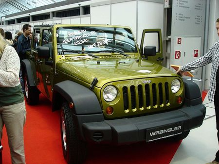 Front eines Jeep Wrangler Unlimited | Source | Date 2007-03-18 | Autho
