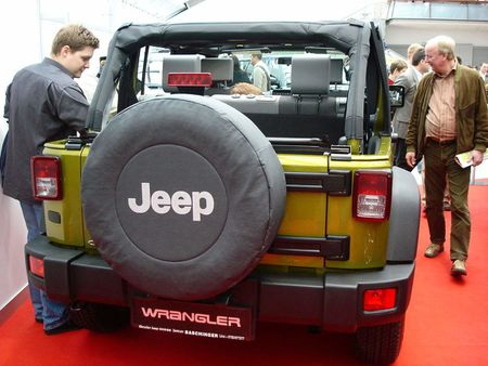 Heck eines Jeep Wrangler Unlimited | Source | Date 2007-03-18 | Author