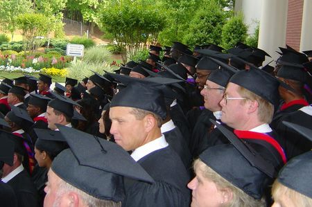 1 Luther Rice Seminary & University Graduates in gowns | Source | Auth